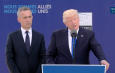 "HE'S BACK: Trump tells NATO members to pay ""their fair share"""