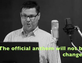 A new politically correct version of the Australian national anthem gets the green light