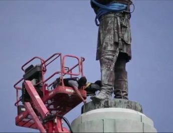Confederacy monument taken down in New Orleans