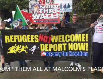 The March To Malcolm's Mansion, Sydney (Highlights)