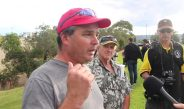 Nick Folkes speaks at Penrith patriots rally