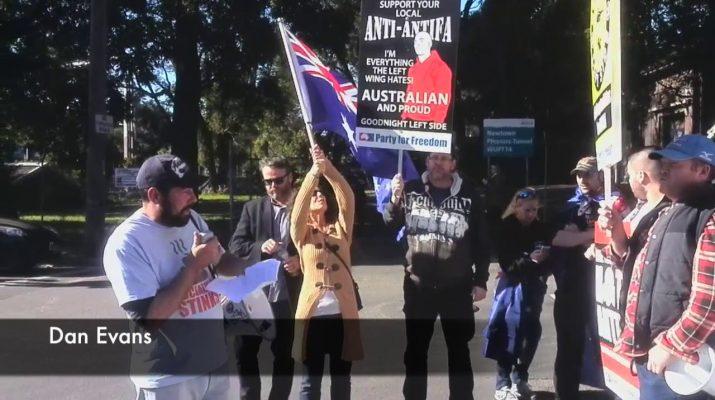 Stamp Out Antifa Violence, Sydney (Highlights)