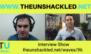 The Unshackled Waves Ep. 96 Interview Show with Dave Pellowe from Church and State