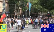 Fast – Australia Day 2018 at Melbourne's CBD