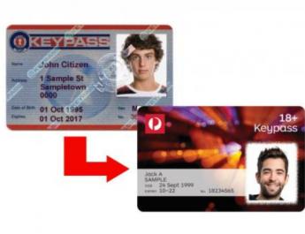 Australia Post Keypass ID Cards Also Now Do Not List Gender