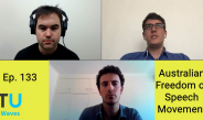 The Unshackled Waves Ep. 133 Australian Freedom of Speech Movement
