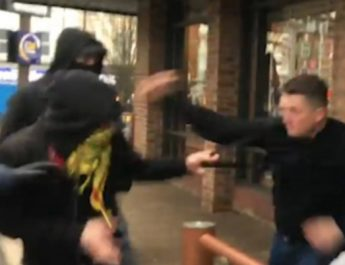 Tommy Robinson Assaulted by Antifa, Friends Deported from the UK